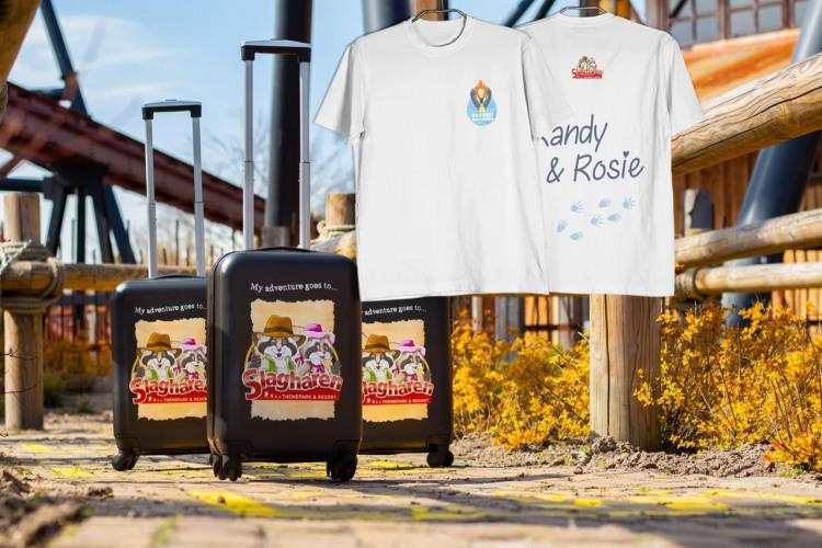 SLG Koffer + WWSS shirt